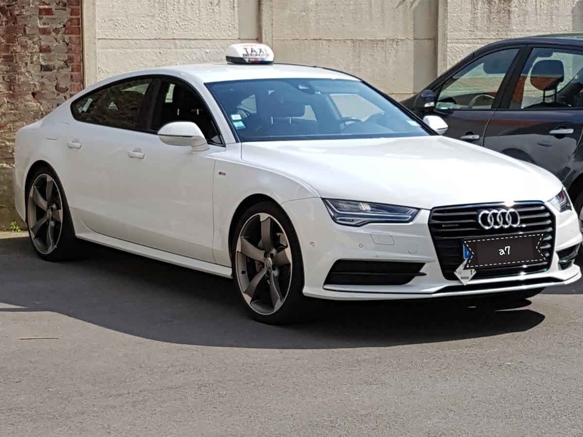 Audi A7 Blanc