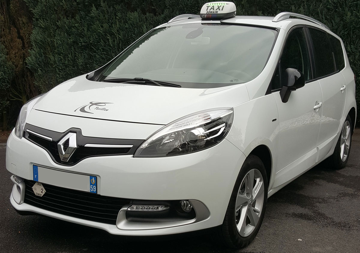 Renault Scenic Blanc