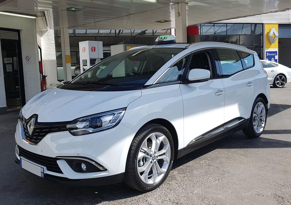 Renault Scenic Blanc 2017