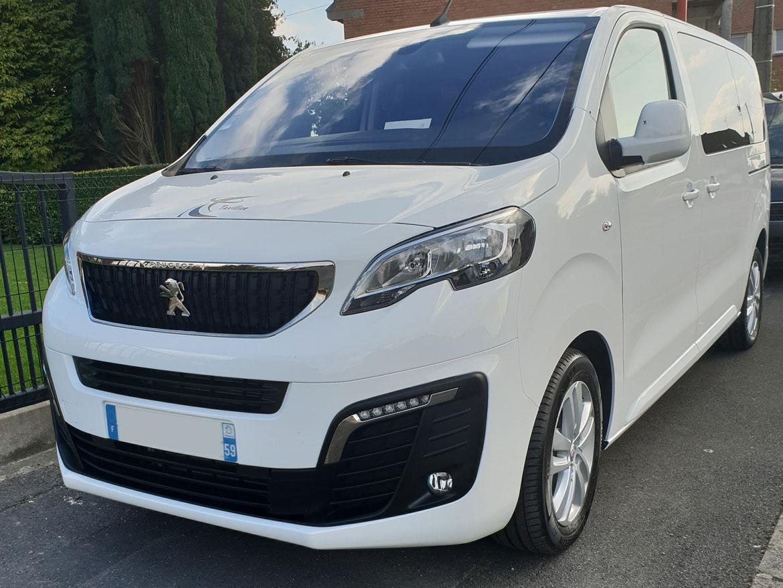 Peugeot Traveller Blanc